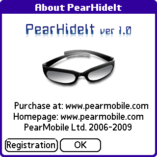 PearHideIt screenshot #4