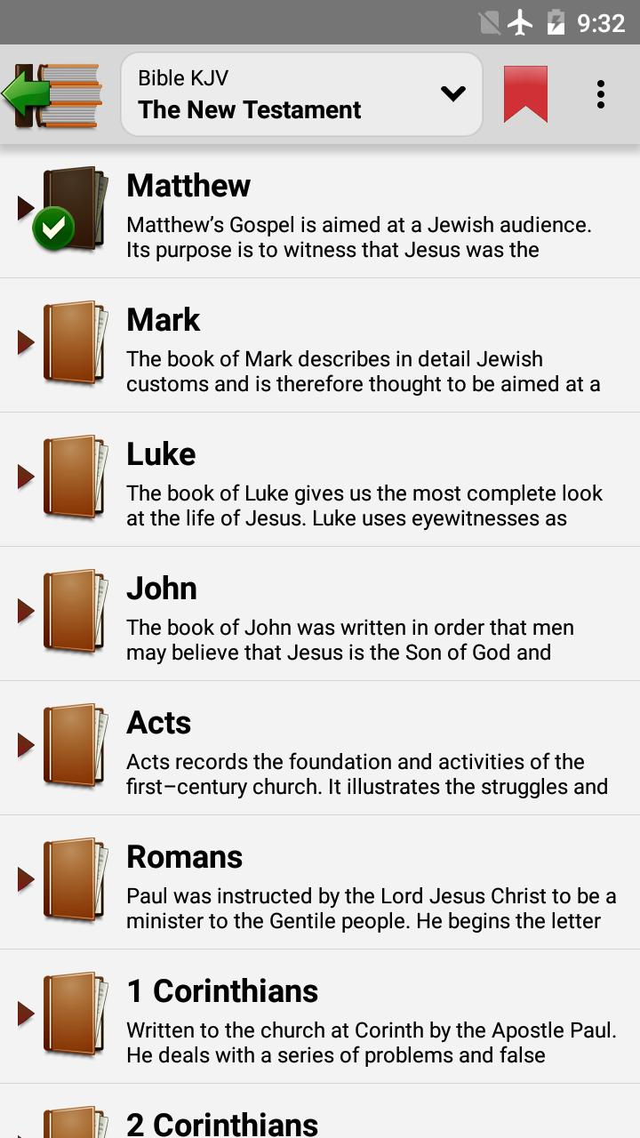 Holy Bible screenshot #2