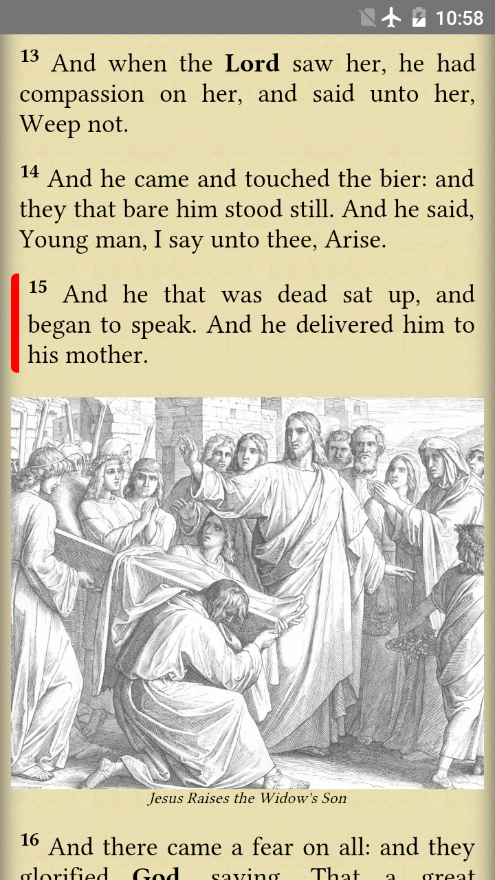 Holy Bible screenshot #4